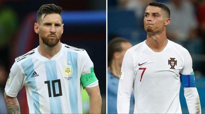 Coupe du Monde 2018 : Ronaldo repart avec Messi et l'Uruguay rejoint les Bleus en quart