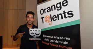 Orange : Le meilleur «Talent» en humour connu