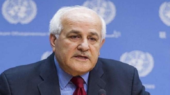 Riad Mansour, Ambassadeur, Représentant de l'Etat de Palestine