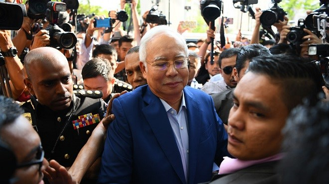 Arrestation de l'ex-Premier ministre malaisien Najib Razak