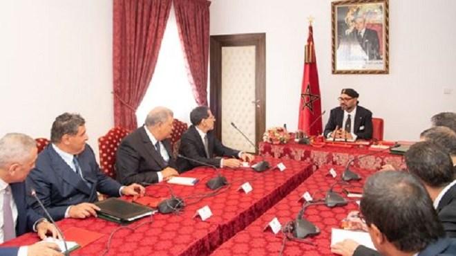 Al Hoceima : SM le Roi préside une importante réunion