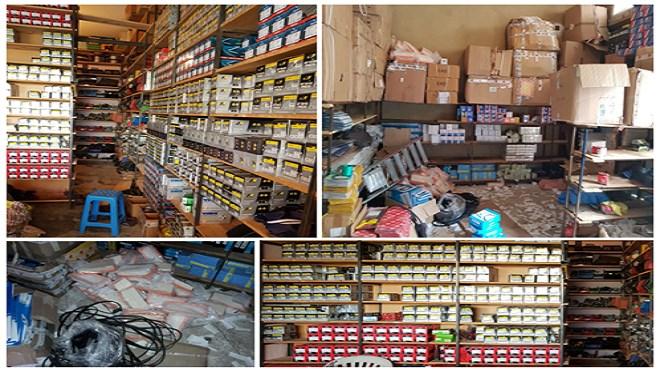 Meknès : Saisie de pièces détachées (PPD) pour véhicules non-conformes avant leur commercialisation