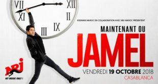 Jamel Debbouze fait escale à Casablanca le 19 Octobre