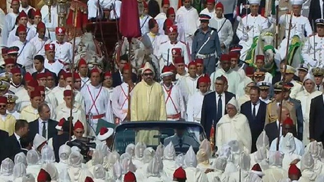 le Roi Mohammed VI préside à Tétouan la cérémonie d'allégeance (Vidéo)