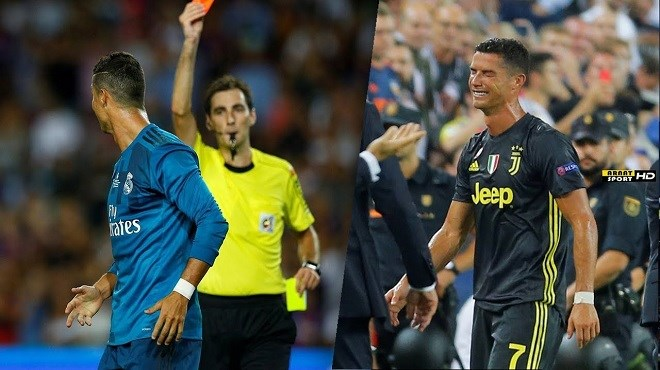 (Vidéo) Cristiano Ronaldo expulsé d'un match en larmes