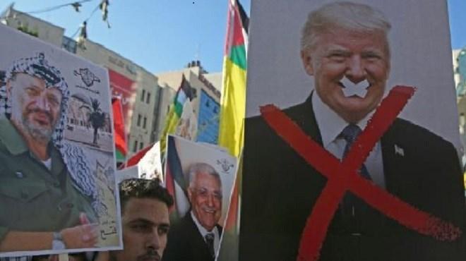 Palestiniens : le coup de poignard américain