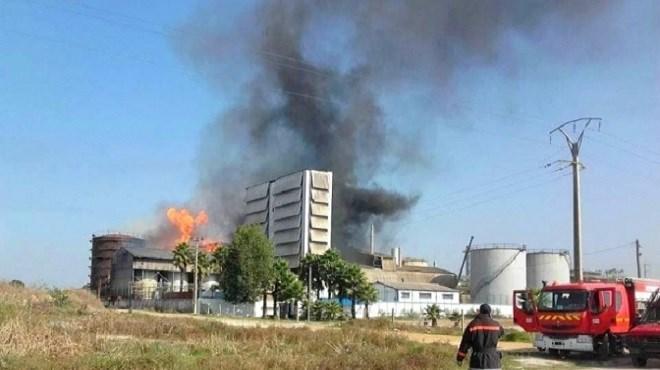 Kénitra : Incendie dans deux réservoirs de gaz butane