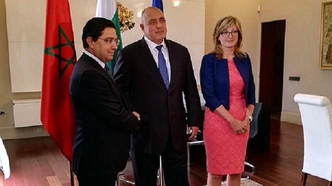 Entretiens entre Nasser Bourita et plusieurs responsables bulgares