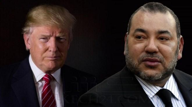 Le Roi Mohammed VI adresse un message à Donald Trump
