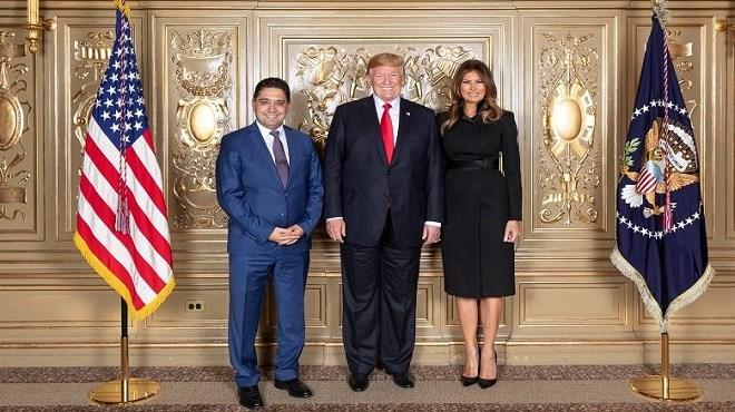 Maroc-Etats-Unis : Nasser Bourita reçu par Donald Trump