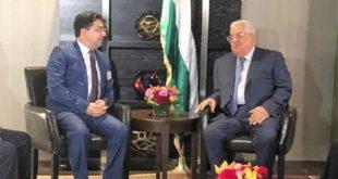 Cause palestinienne : Le président palestinien salue les positions constantes de SM le Roi