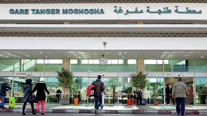 ONCF : Fermeture de la gare de Tanger-Moghogha