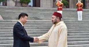 SM le Roi Mohammed VI invite le président chinois à se rendre au Maroc
