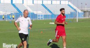 Football. Equipe nationale : Dernière séance d'entraînement avant le match contres les Comores