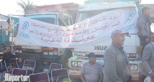 Transporteurs de fruits et légumes : La grève continue !