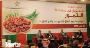 Sidattes 2018 : 7é Forum de l'investissement dans la filière phoenicicole