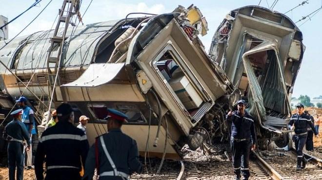 Vidéo : Grave accident de train à Bouknadel