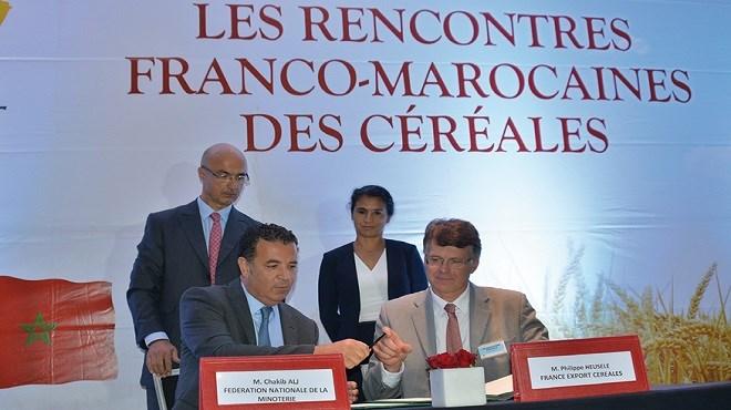 Céréales : Le Maroc et la France renforcent leur partenariat