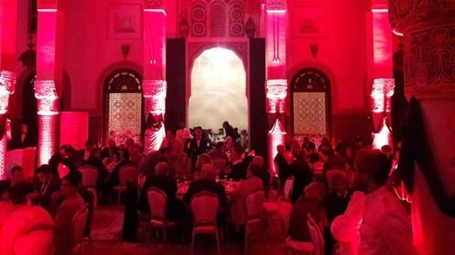 Salon Maghrébin du livre 2018 : dîner de gala en l'honneur des participants