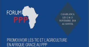 Maroc-Afrique-Forum PPP : Promouvoir les TIC et l'Agriculture