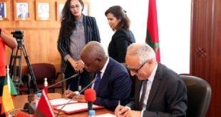 Rabat : Signature d'un mémorandum d'entente entre le Maroc et le Bénin