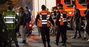 Sept policiers blessés à Marrakech
