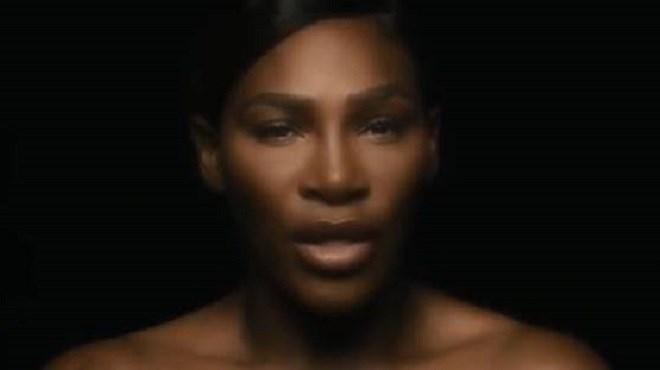 Serena Williams se déshabille pour lutter contre le cancer du sein (vidéo)