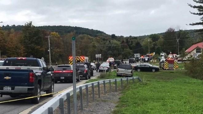 20 morts dans un accident dans l'Etat de New York