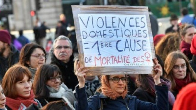Des manifestations contre les violences conjugales partout en France