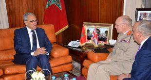 Rabat : Abdeltif Loudyi s'entretient avec le Haut conseiller à la Défense britannique chargé de la région MENA