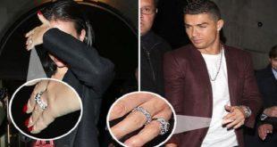 "Cristiano Ronaldo et Georgina Rodriguez se sont dit ""Oui"""