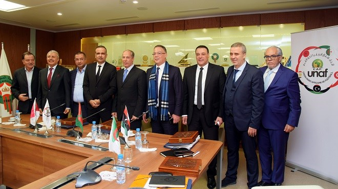 Football : Élection à Rabat du Libyen Jamal Jaafari nouveau président de l'Union nord-africaine