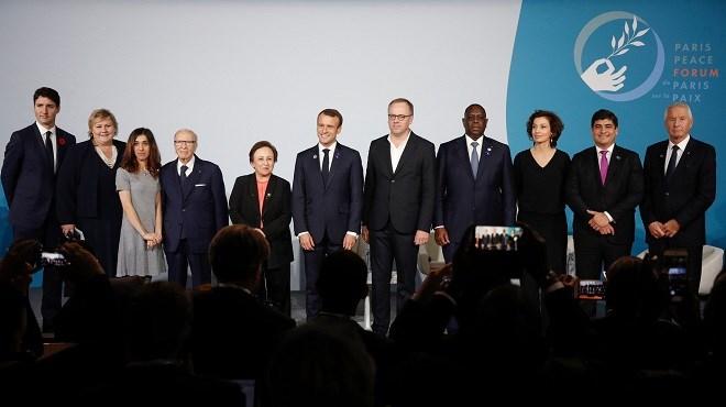 Forum de Paris sur la paix : Une première édition réussie