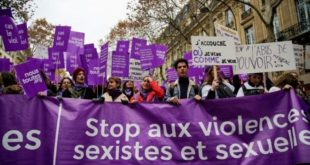 France : Des milliers de personnes défilent contre les violences sexistes