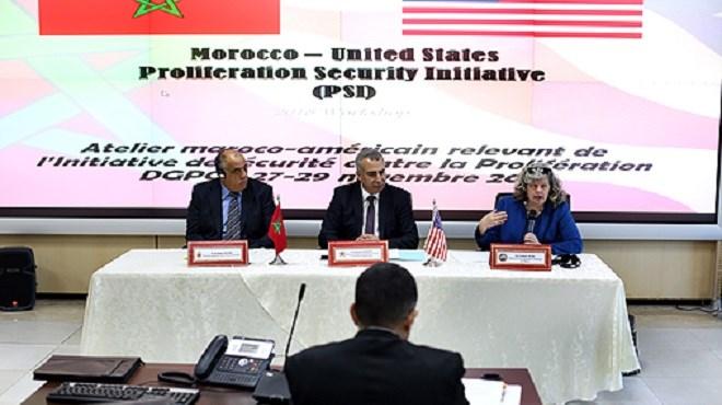 Maroc-Etats-Unis : Tenue à Rabat d'une réunion sur la lutte contre les armes de destruction massive
