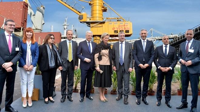 Mass Céréales Al Maghreb : La filiale du Groupe Holmarcom reçoit la mission économique belge