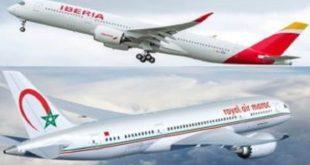 RAM : Un accord de «Code-Share» avec Iberia