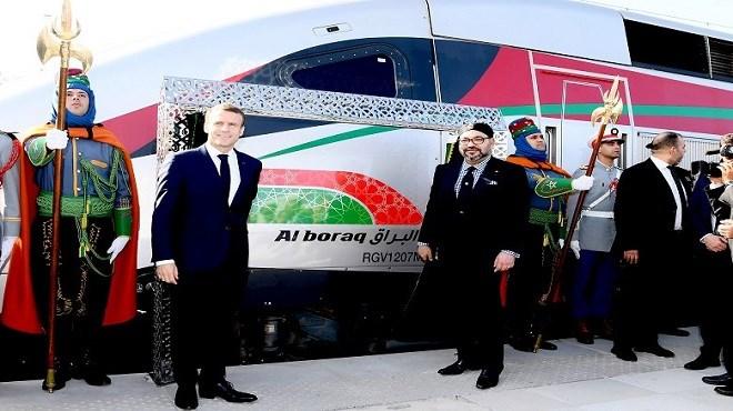 """En vidéo, l'inauguration du TGV marocain """"Al BORAQ"""""""