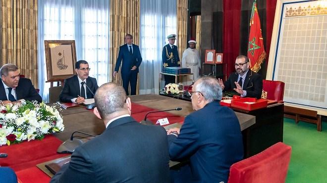 Formation professionnelle-Accélération industrielle : SM le Roi préside une séance de travail à Rabat