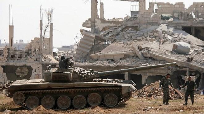 Syrie : L'armée syrienne à l'offensive