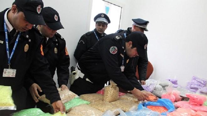 Tanger-Med : Saisie de 493.700 comprimés de drogue de type Ecstasy