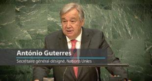 ONU : Antonio Guterres se félicite de l'adoption par l'AG du Pacte de Marrakech