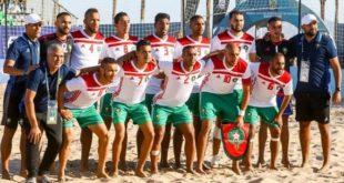 Beach-soccer : Le Maroc au dernier carré de la CAN-2018