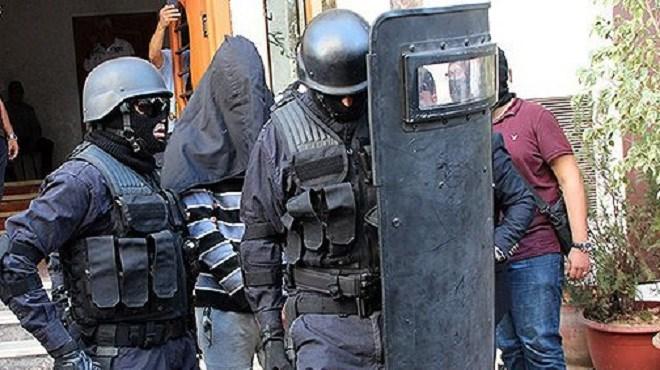 """Béni Mellal : Démantèlement d'une cellule terroriste composée de six individus présumés partisans de """"Daech"""""""