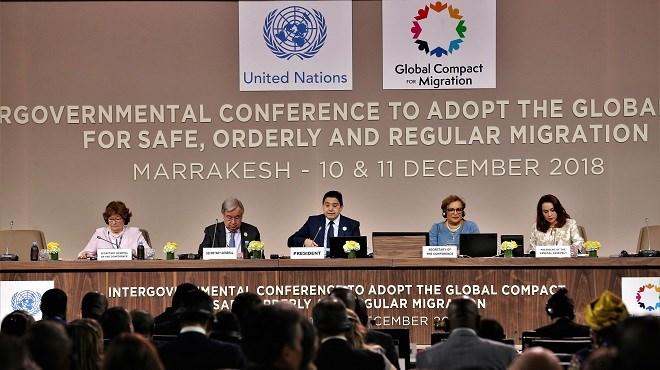 Marrakech : Adoption formelle du Pacte mondial pour des migrations