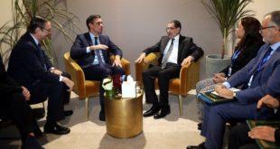 Entretien à Marrakech entre El Otmani et le président du gouvernement espagnol
