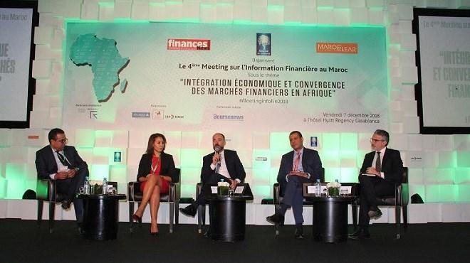 Meeting sur l'information financière : Pour une convergence des marchés financiers en Afrique