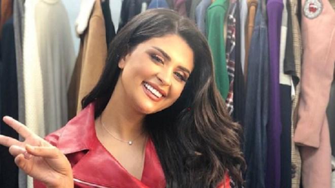 Salma Rachid en plein tournage d'une série ramadanesque