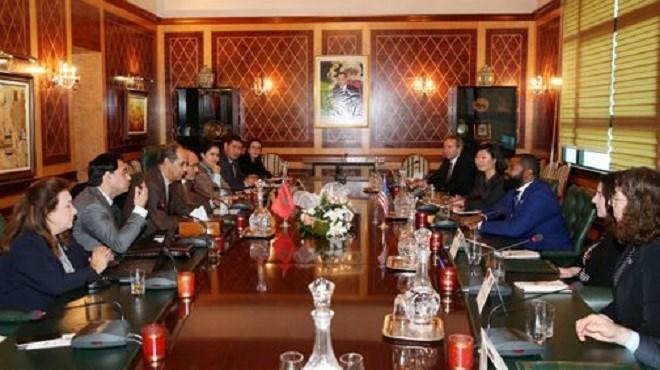 Rabat : Une délégation du Conseil américain des jeunes leaders politiques visite la Chambre des conseillers