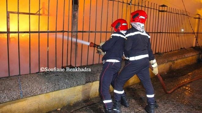 Urgent : Un nouvel incendie dans le camp des migrants de Ouled Ziane
